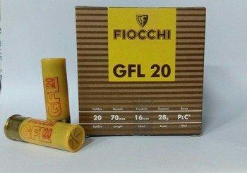 """Amunicja 20/70 Fiocchi """"4"""" gwiazdka 28g (25 szt.)"""