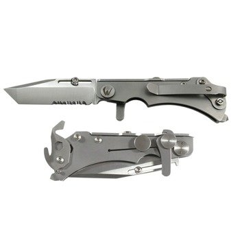 Nóż Wildsteer W Pocket Satin combo blade - powystawowy
