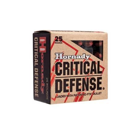 Amunicja .357 Magnum Hornady FTX Critical Defence 8,1g/125gr (25 szt.)