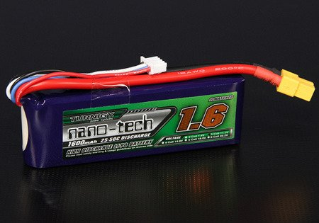 Akumulator11,1V 1600mAh 25/50C Turnigy