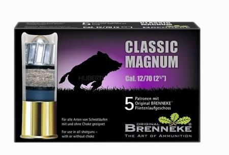 Amunicja 12/70 Brenekke Classc Magnum 31,5g  (5 szt.)