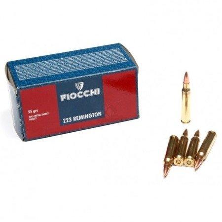 Amunicja .223 Rem Fiocchi FMJ 3,6g/55gr (50 szt.)