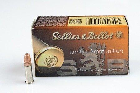 Amunicja .22LR S&B HV 2,33g/36gr (50 szt.)