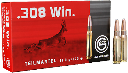 Amunicja .308 Win GECO Teilmantel 11g/170gr (20 szt.)