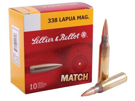 Amunicja .338 Lapua Magnum S&B HPBT 16.2g/250gr (10 szt.)