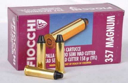 Amunicja .357 Mag Fiocchi LSWC 10,24g/158gr (50 szt)