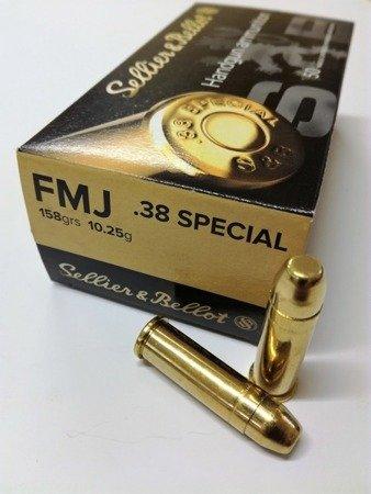Amunicja .38 Special S&B FMJ 10.25g/158gr (50 szt.)