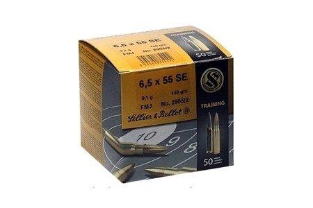 Amunicja 6,5x55SE S&B FMJ 9.1g/140gr (50 szt.)