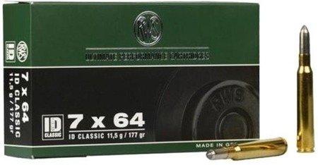 Amunicja 7x64 RWS ID 11,5g/177gr (20 szt.)