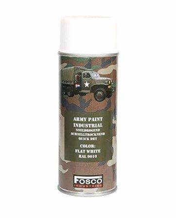 Farba do maskowania broni - Flat White - RAL 9010 - Fosco