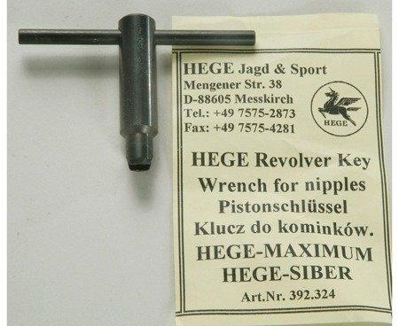 Klucz Hege do kominków