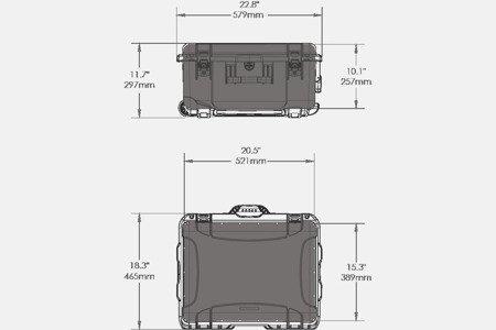 NANUK 950 DJI™ PHANTOM 4 Grafitowy