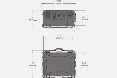 NANUK 950 DJI™ RONIN-M Grafitowy