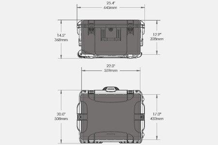 NANUK 960 DJI RONIN MX Grafitowy