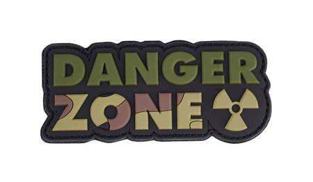 Naszywka 3D Danger Zone Woodland - 101 Inc.