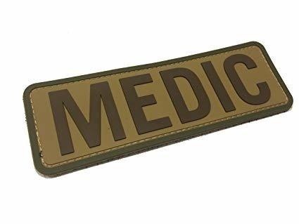 Naszywka MEDIC duża
