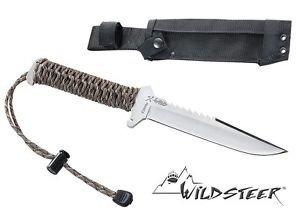 Nóż survivalowy Wildsteer TX Wild Satin