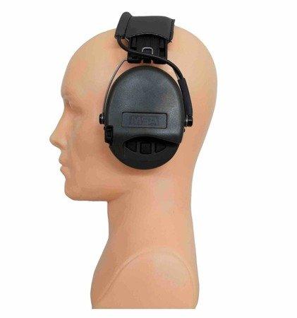 Ochronniki Słuchu Sordin Supreme Basic AUX - zielone