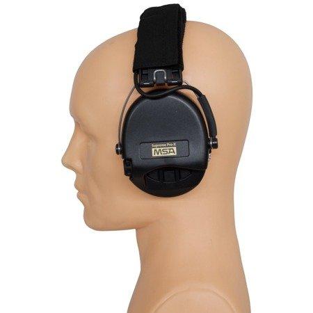 Ochronniki Słuchu Sordin Supreme Pro-X Czarne Nagłowne