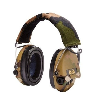 Ochronniki Słuchu Sordin Supreme Pro-X LED Camo nagłowne