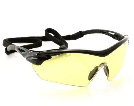 Okulary balistyczne MSA Racers Amber - bursztynowe
