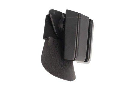 Podwójna ładownica ESP z Fobus Paddle na magazynki 9mm/.40/.45 - płetwa