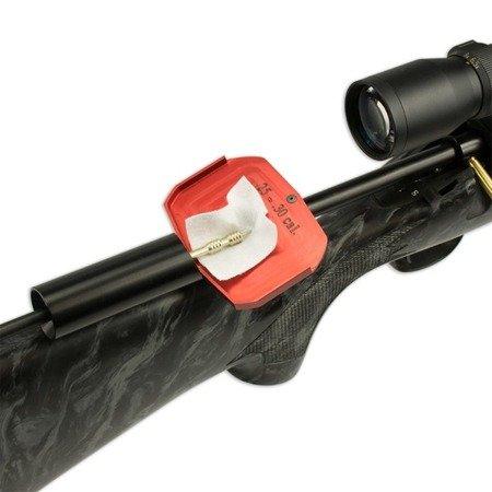 Prowadnica wyciora z płytką do flanel dla karabinów powtarzalnych centralnego zapłonu - Bore Tech