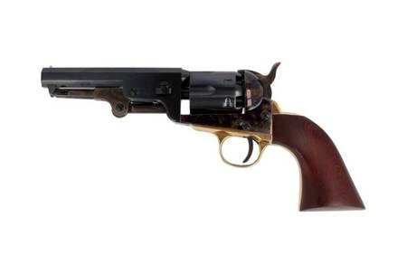 "Rewolwer czarnoprochowy Hege-Uberti Colt Navy Sheriff 1847/51 kal. .36 lufa 5"" oktagonalna"