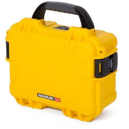Skrzynia transportowa Nanuk 904 żółta - bez wypełnienia