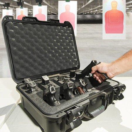 Skrzynia transportowa Nanuk 925 czarna - 4UP Pistol