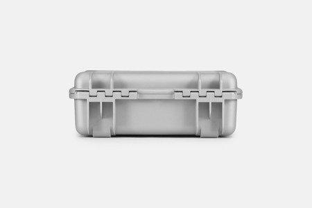 Skrzynia transportowa Nanuk 925 srebrna - wkład modułowy FOTO