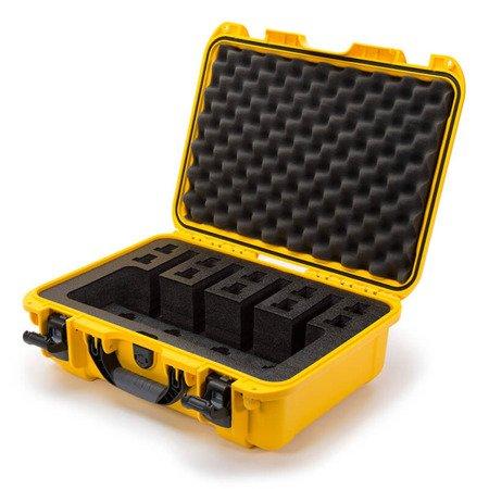 Skrzynia transportowa Nanuk 925 żółta - 4UP Pistol