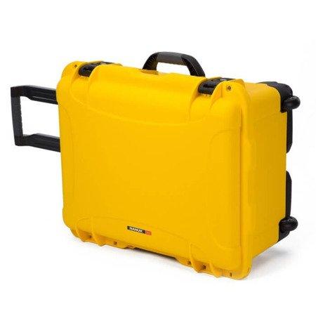 Skrzynia transportowa Nanuk 950 żółta - pianka modułowa wyrywana