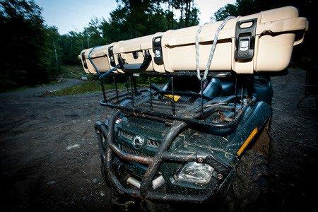 Skrzynia transportowa Nanuk 995 Tan - pełna pianka