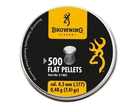 Śrut Browning Flat Pellets 4,5 mm 500 szt.