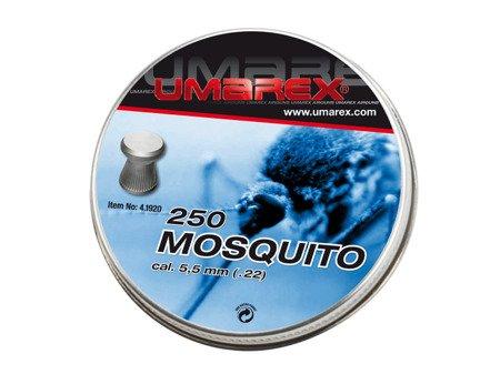 Śrut diabolo Umarex Mosquito Ribbed 5,5 mm 250 szt.