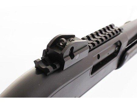Strzelba samopowtarzalna Francolin Tactical Pomarina kal. 12/76 lufa 51cm osada syntetyczna