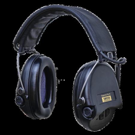 Ochronniki Słuchu Sordin Supreme Pro-X Leather Czarne