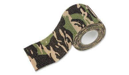 Taśma maskująca Mil-Tec Self Adhesive Camo Tape - Woodland