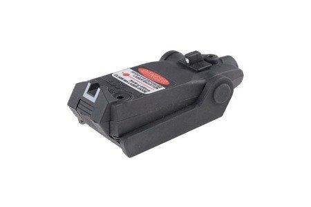 Wskaźnik laserowy do replik pistoletów Glock - czarny